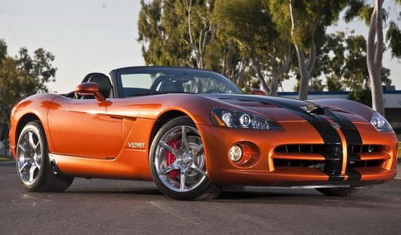 Последняя серия Dodge Viper SRT10