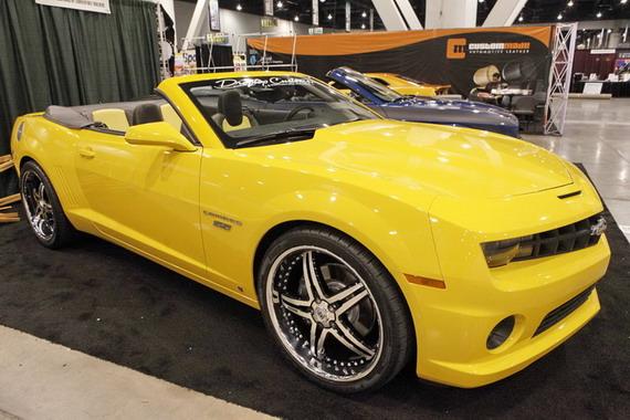 2010 Chevrolet Camaro дебютировал в Лас-Вегасе