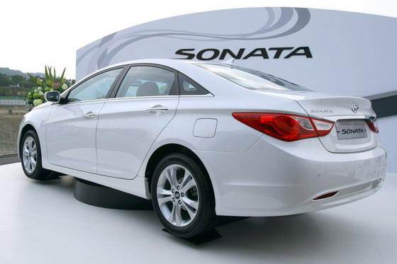 Дебют 2011 Hyundai Sonata во Франкфурте