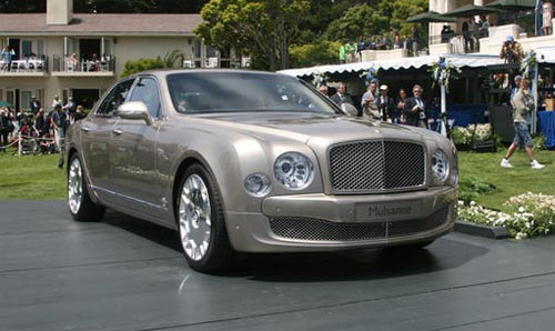 Видео релиз Bentley Mulsanne