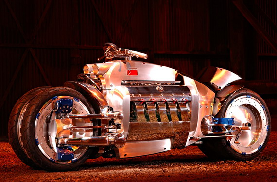 Самый быстрый мотоцикл 2009 – dodge tomahawk