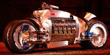 Самый быстрый мотоцикл 2009 - Dodge-Tomahawk