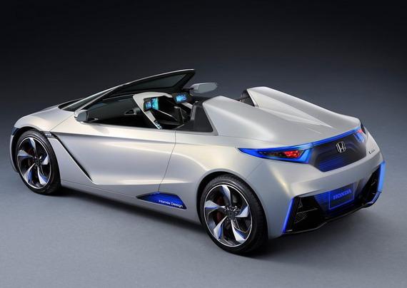 Honda EV-Ster – взгляд в будущее