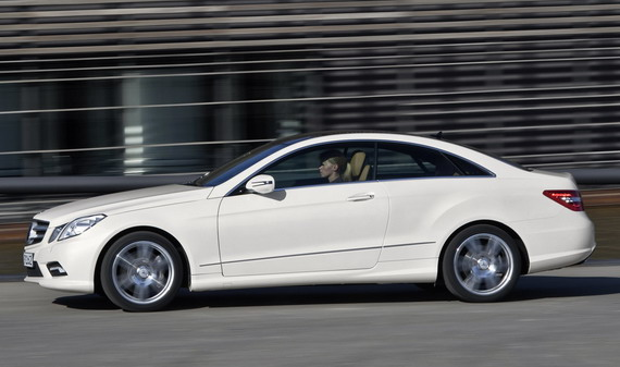 mercedes-benz E500 Coupe 2010