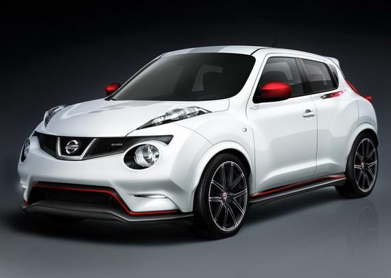 Новый концепт Nissan Juke Nismo