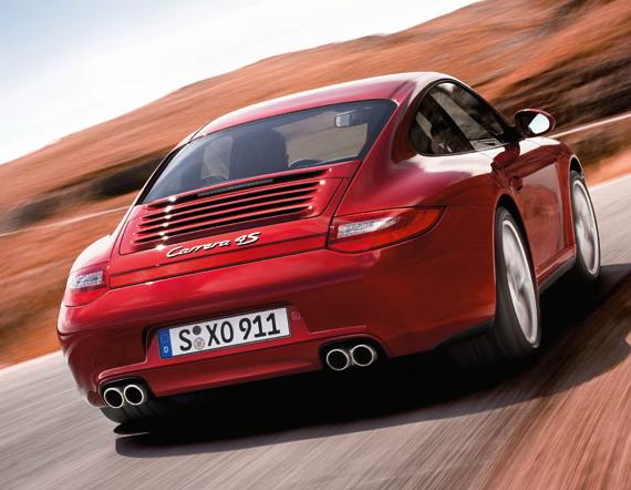 Porsche 911 Carrera 4 S Coupe