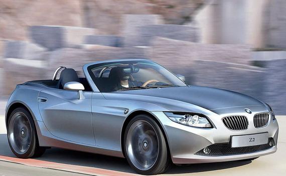 Очаровательный кабриолет BMW Z2