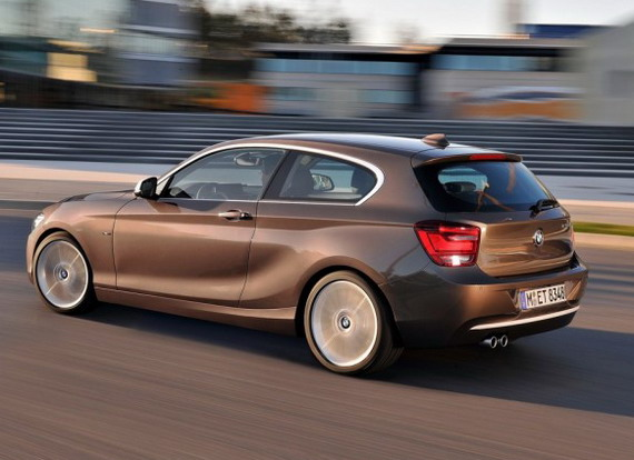 Дебют хэтчбека BMW 1-Series 3D