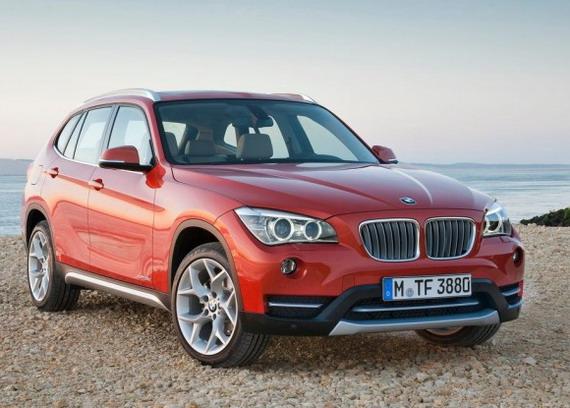 Фото кроссовера BMW X1 2013