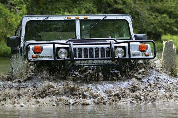 H1, H2, H3. Фото и характеристики моделей Hummer