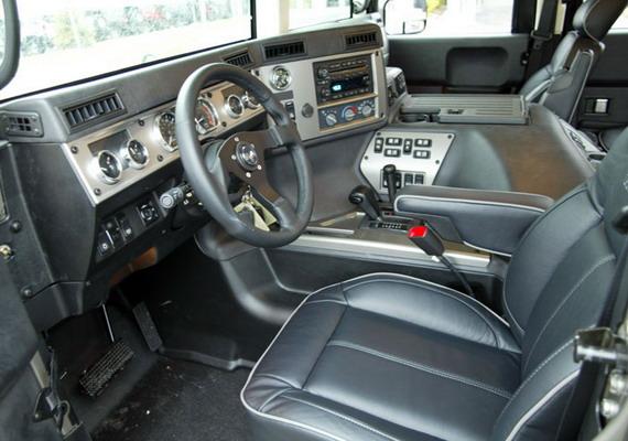 Hummer h1 alpha interior