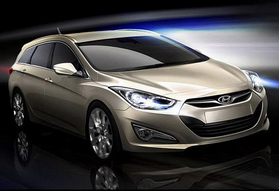 Официальные изображения Hyundai i40 Sonata