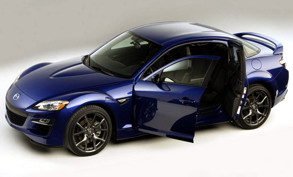 Mazda RX-8 уходит с европейского рынка