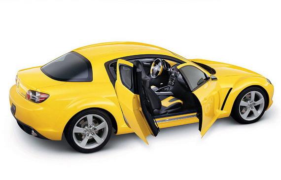 Mazda RX-8 уходит с рынка