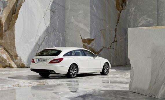 Некоторые детали Mercedes Shooting Brake