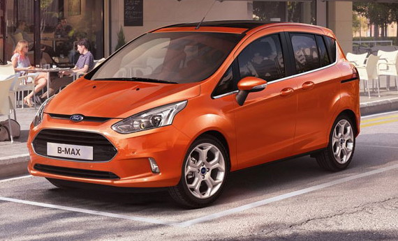 Серийный Ford B-Max 2012
