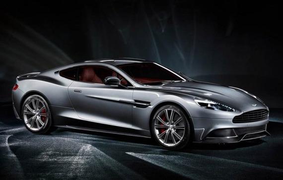 Суперкар Vanquish от компании Aston Martin